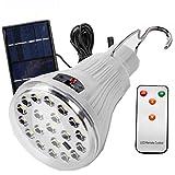 Sonnenkollektor Power LED Birne Lampe Tragbare Helligkeit LED Birne mit Solar Panel E27 Notleuchte und Ausgang DC 5V externe Akku Power Bank für Telefon