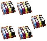 Prestige Cartridge HP364XL Lot de 20 Cartouches d'encre compatible avec Imprimante Photosmart 5510, 5511, 5512, 5514, 5515, 5520, 5522, 5524, 6510, 6512, 6515, 6520, 7515, B010a, B109a, B109d, B109f, B109n, B110a, B110c, B110e, Photosmart Plus B209a, B209c, B210a, B210c, B210d, Deskjet 3070A, 3520, 3522, 3524, Officejet 4610, 4620, Noir/Cyan/Magenta/Jaune