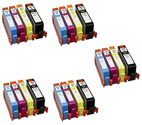Prestige Cartridge HP364XL Pack de 20 Cartouches d'encre compatible avec