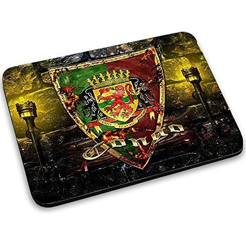 Escudo de armas colección 2, Custom adhesivo para MacBook piel de vinilo mangas de diferentes tamaños, neopreno, Coat of Arms Congo, Mouse Mat
