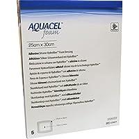 AQUACEL Foam adhäsiv 25x30 cm Verband 5 St Verband preisvergleich bei billige-tabletten.eu