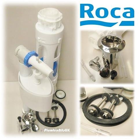 Roca Senso complet D2D Réservoir de chasse d'eau double Pack & BOUTON DE SOUPaPE DE REMPLISSAGE