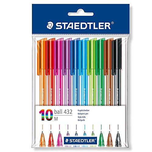 STAEDTLER 43235MPB10 - Bolígrafo, color surtido