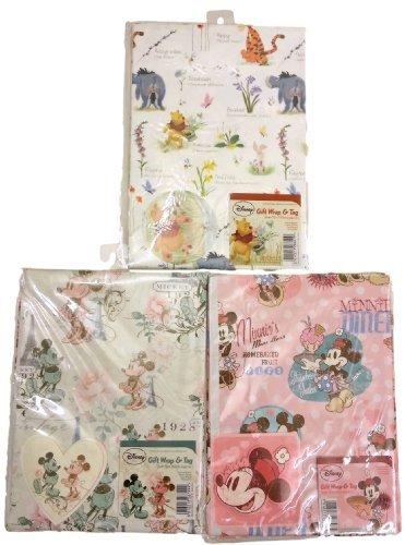 6-packungen-2-x-3-designs-disney-charakter-geschenkpapier-blatt-und-tags