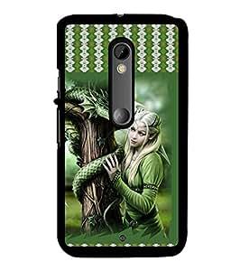 Fuson 2D Printed Girly Designer back case cover for Motorola Moto X Style - D4142