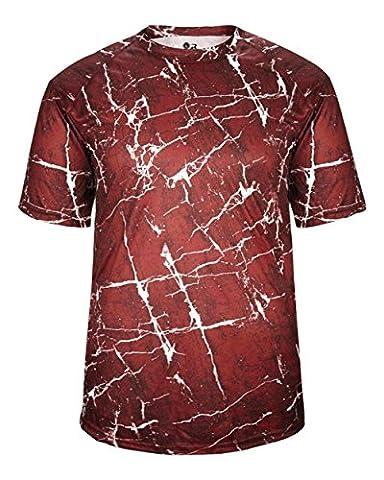chocs Sports Jersey uniforme Performance anti-humidité Dessus (12couleurs, EN 13Jeunesse et adulte), femme Homme, Red