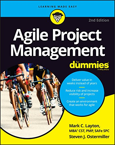 Agile Project Management For Dummies por Mark C. Layton