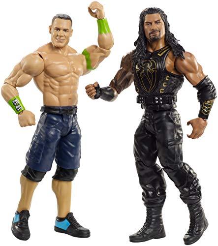 Mattel WWE GBN51  Basis Figuren (15 cm) 2er-Pack John Cena & Roman Reigns