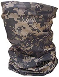 Tour de Cou Masque Cagoule 12 en 1 AT Digital Camouflage - Airsoft - Paintball - Moto - Ski - Snow - Surf - Outdoor