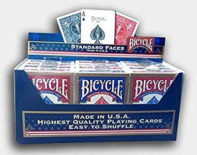 Cartouche de 12 jeux BICYCLE (US playing cards company)