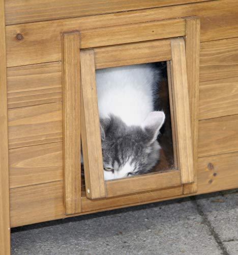 Kerbl Katzenhaus Lodge aus Holz - 5