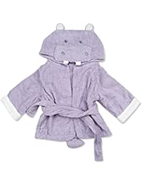 Copelsie Baby Christmas Clothes.Unisex Childrens Baby Print Flannel Bathrobes Hoodie Towel Pajamas Night Gown