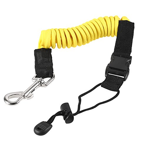 Blusea paddle leash elastica paddle corda kayak pagaia guinzaglio pesca corda fishing rod pole corda cravatta per tavola da surf kayak canoa accessori