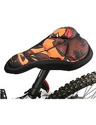 darpy (TM) 3couleurs New Coco/Route respirer librement Cyclisme pour selle de vélo confortable Coussin éponge doux Housse pour siège de vélo
