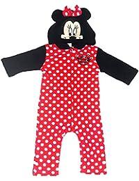 Disney Minnie Mouse Plüsch Overall Gr. 68,74,80,86