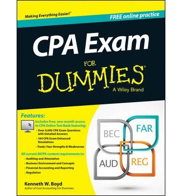 [(CPA Exam For Dummies)] [ By (author) Kenneth W. Boyd, By (author) Consumer Dummies ] [October, 2014]