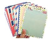 32 Stück spezielle Design sortiert Farbe Lovely Briefpapier Paper & 16 Umschlag Buchstabe Set