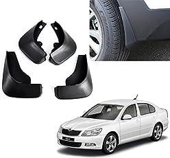 Autopearl O.E Type Car Mud Flap Guard for Skoda Laura (Set of 4)