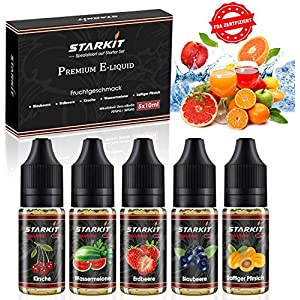 STARTKIT E Liquid 5x 10ml Series 2019 ohne Nikotin