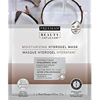 Máscara hidratante de infusión de belleza con leche de coco y ácido hialurónico