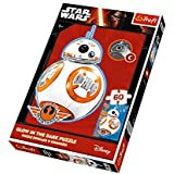 Puzzle 60 Star Wars BB-8 nadchodzi Glow in the Dark