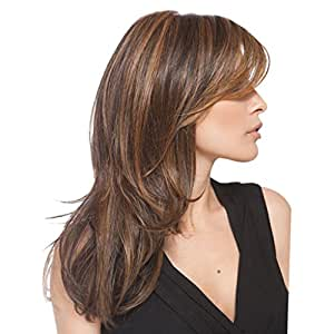 Long Layers Hair With Side Bangs 95