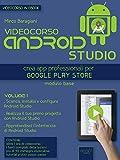 Videocorso Android Studio. Volume 1: Crea app professionali per Google Play Store (Italian Edition)