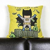 JinRou Moda casual supereroe Cuscino cotone cuscino del divano posteriore cuscino lombare cuscino , 3