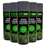 (6Dosen) Autotek Etch Primer Spray für Aluminium Stahl verzinkt Edelstahl GRP Kunststoff