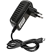 Rydges EU 5V 3A 3000mAh Micro USB Stecker Netzteil DC Adapter Strom Kabel für Raspberry Pi 3 Model B / Raspberry Pi 2 Model B ( die ausreichende Leistungsreserve )