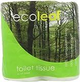 Ecoleaf Toilet Tissue 4 pack (Pack of 5)