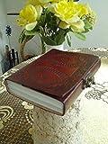 qualityart Leder Journal Notizbuch Tagebuch Skizzenbuch Travel Blank Book 15