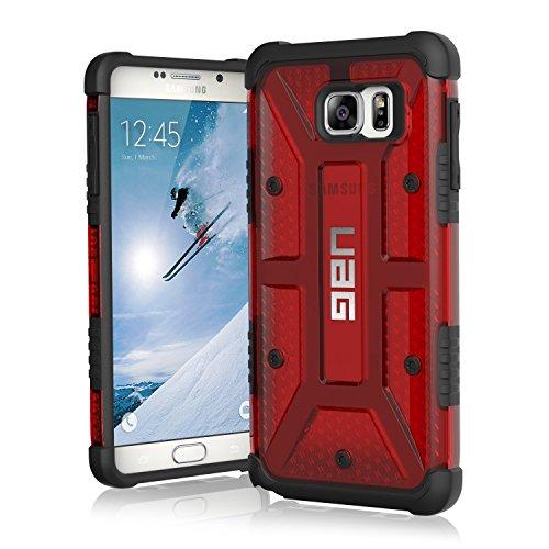 Urban Armor gear - UAG-GLXN5-MGM-W/SCRN-VP - zusammengesetzten Hülle für Samsung Galaxy Note 5 - rot (Urban Fall Iphone 5)