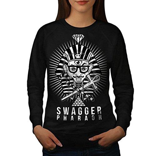 Stolzieren Pharao Mode Damen M Sweatshirt   Wellcoda (Pharao Kostüm Männlich)