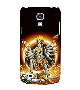 Kali Bhagwan 3D Hard Polycarbonate Designer Back Case Cover for Samsung Galaxy S4