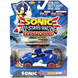 Sonic All Stars Racing Transformed: Sonic the Hedgehog. Pull Back Action by NKOK, Inc by NKOK