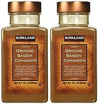 Kirkland Saigon Cinnamon 10.7 Oz Bottles(Pack of 2) - 21.4 Oz Total