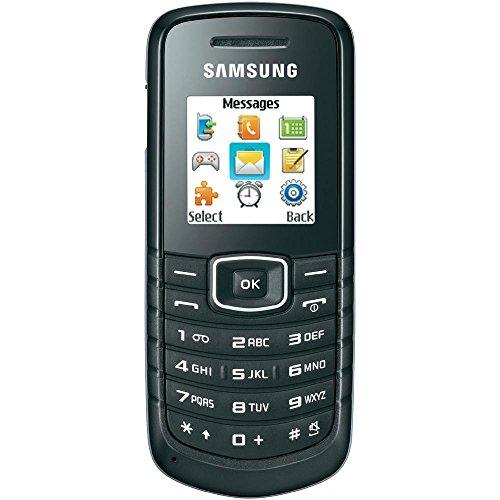Samsung E1080w Handy schwarz Mobilfunktelefon + Prepaid Karte von Congstar NEU