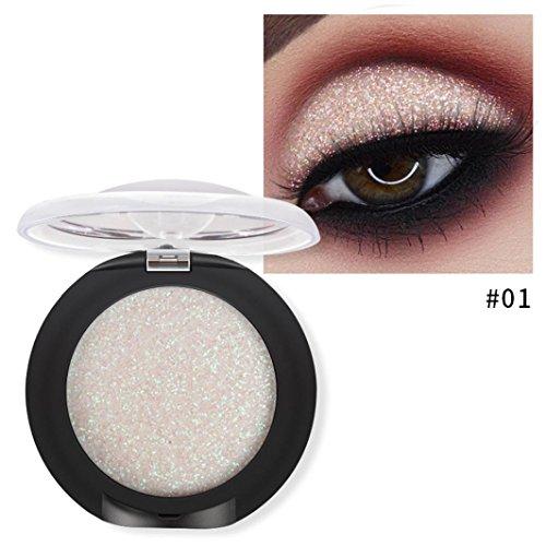 uBabamama 20 Farben Kosmetik Frauen Schimmernde Kosmetik Matte Lidschatten Creme Make-up Puder