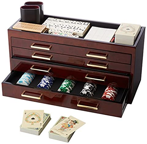 Wolf Meridian Collection Casino Gaming Set -