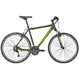 Bergamont Helix 3.0 Cross Trekking Fahrrad oliv grün/grün/rot 2018: Größe: 52cm (170-178cm)