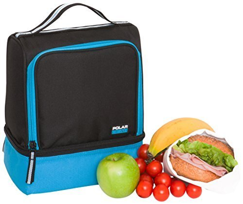 polar-gear-active-2-compartment-lunch-cooler-turquoise-by-polar-gear