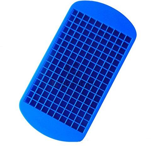 LIUYUNE,Umweltfreundliche Hohlraumscheibe mit 160 Mesh-Silikagel-Eiswürfel(color:MEERBLAU)