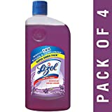 #10: Lizol Disinfectant Surface Cleaner, Lavender, 975 ml (Pack of 4)