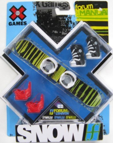 X Games Fingerboard Snowboard Forum Manual Snowboard / Baseline Boots by X Games