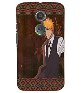 PrintDhaba Formal Look Man D-3562 Back Case Cover for MOTOROLA MOTO X2 (Multi-Coloured)