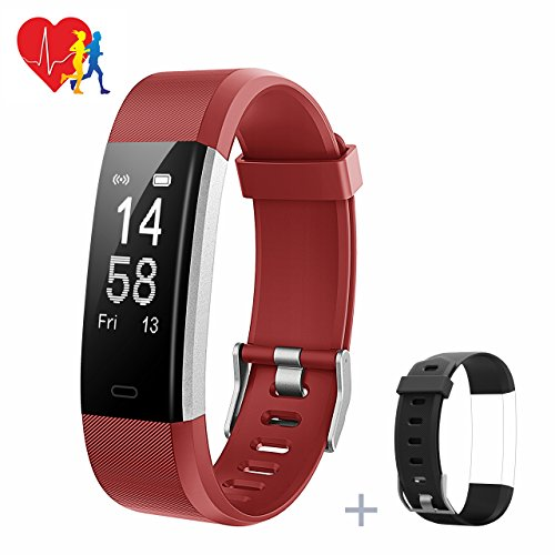 Mpow Fitness Tracker, Fitness Armbänder Aktivitätstracker,Herzfrequenzmonitor,Schlafmonitor,Schrittzähler mit 14 Trainingsmodi