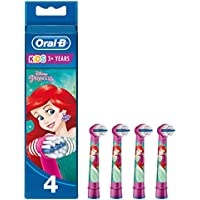 Oral-B Stages Power Kids Replacement Electric Toothbrush Heads Featuring Disney Characters Single Pack of 4 brush (Design May Vary)