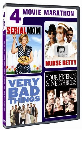 4 Movie Marathon: Dark Comedy Collection (Serial Mom / Nurse Betty / Very Bad Things / Your Friends & Neighbors) by Renee Zellweger