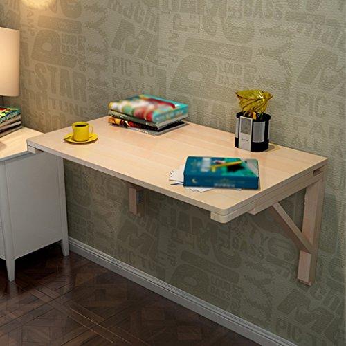 Table À Manger Pliable Table À Suspendre Table À Rallonge Table À Café en Bois Massif Bureau D'étude Bureau (Taille : 75 * 50cm)